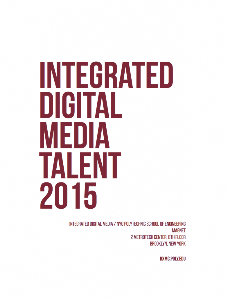 IDM talent 2015 cover page
