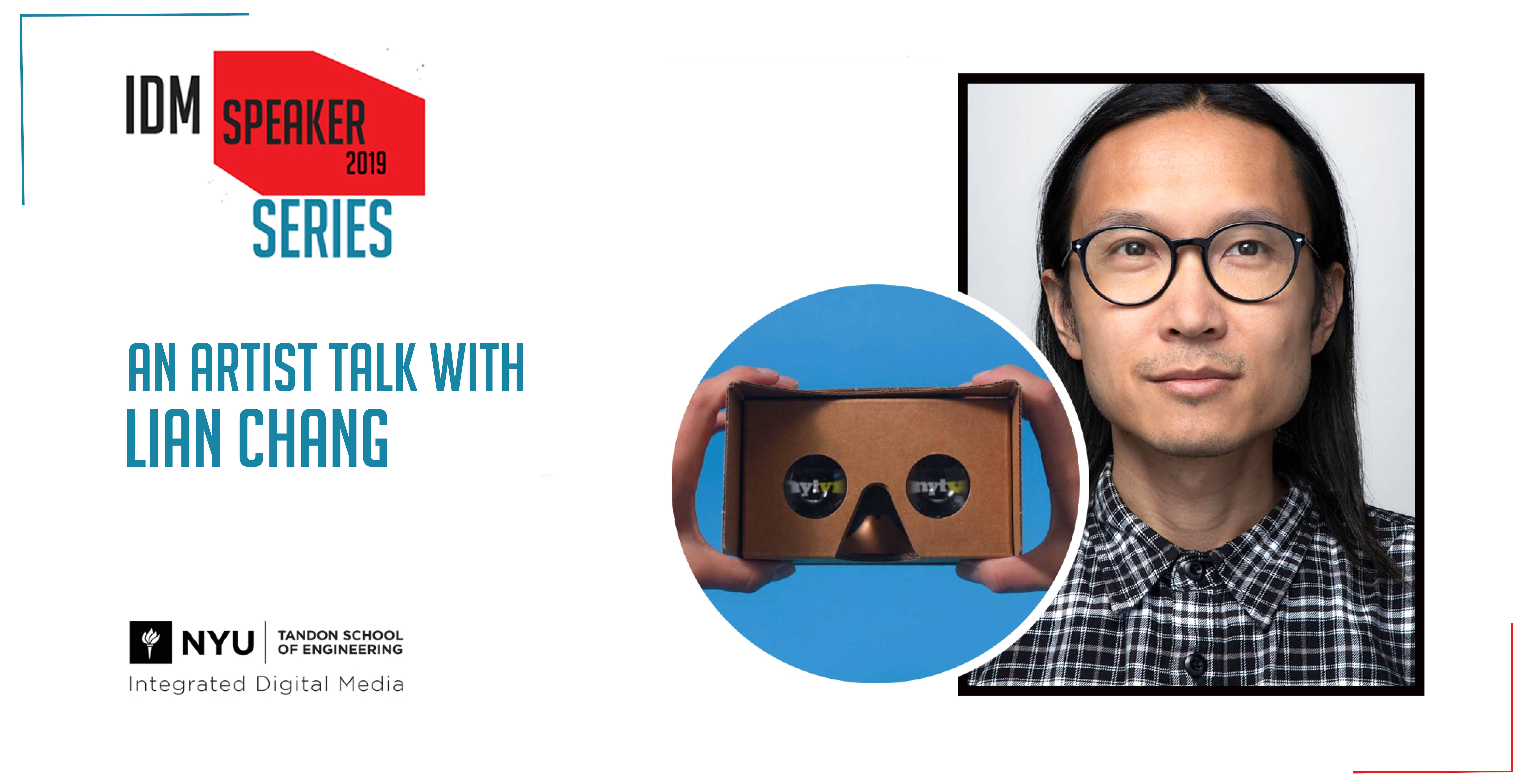 Multimedia Design Director, Lian Chang, Talks About Designing to Enhance Immersive Experiences at the NYU IDM Speaker Series