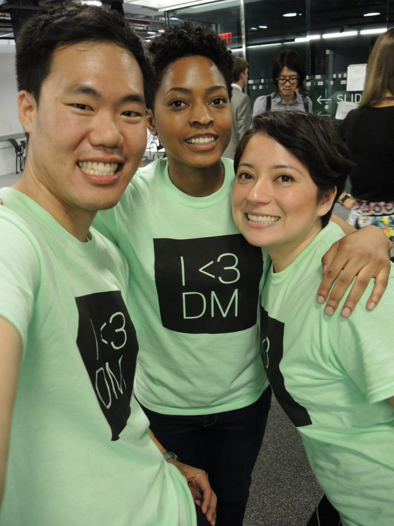 Students at IDM 2015 showcase