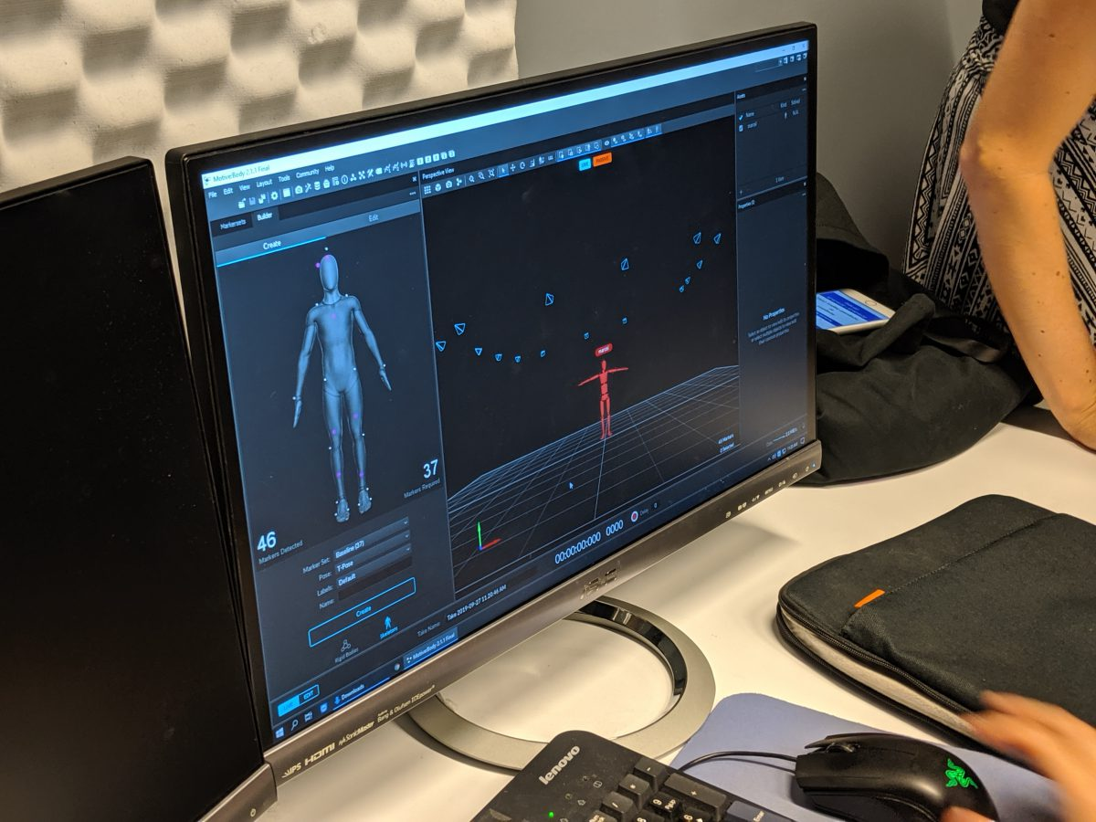 Week 2 of Motion Capture Club