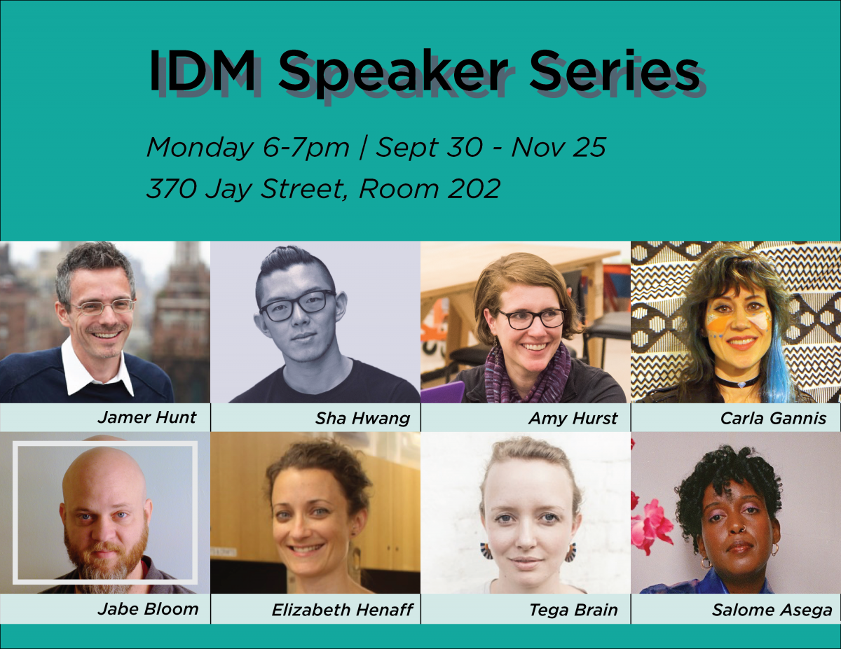 IDM Speaker Series Resumes Fall 2019